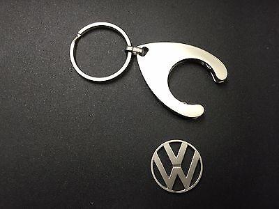 2 X Volkswagen VW Schlüsselanhänger Auto Tuning Einkaufswagenchips neu,