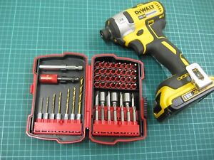 55 Pc cordless Drill and impact Driver Bit Set fits makita & Dewalt cordless NEW