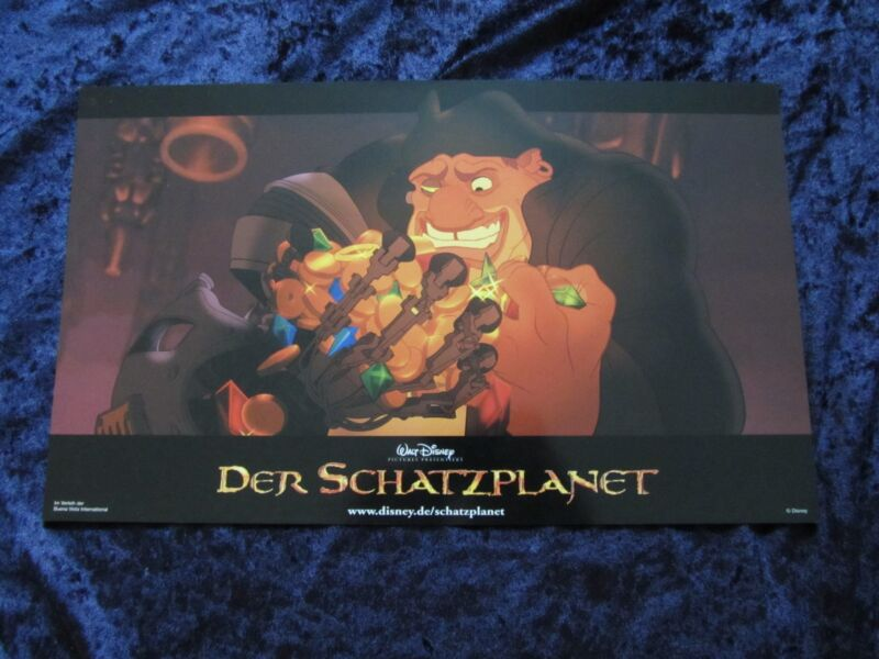 Treasure Planet lobby cards  -  Walt Disney -  original German set of 8 cards