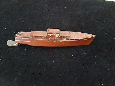 Piko K1999 DDR Boot Yacht Schiff aus Bakelit 44 cm um 1955 kein Blech Spielzeug