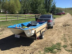 Small lake boat for sale