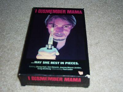 I  Dismember Mama (vhs)  Video Gems BIG BOX release, HORROR, RARE