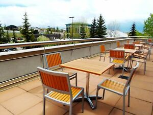 Summer Patio available when you rent an Office at Crowfoot