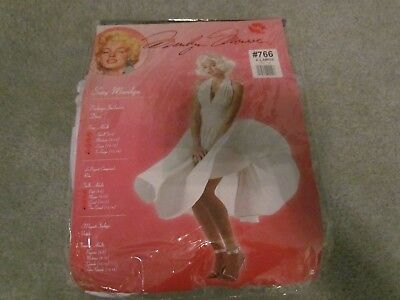 HALLOWEEN COSTUME MARILYN MONROE SEXY  ADULT  XLARGE 12 - 14 WHITE (Marilyn Halloween Kostüme)