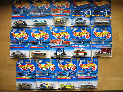 Hot Wheels Ferrari F40 Thunder Roller Mini Cooper 1997 & 2000 Mixed Lot of 14