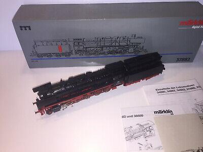 Märklin H0 - 37882 - Locomotive à vapeur avec tender séparé - BR 43 'chauffage a