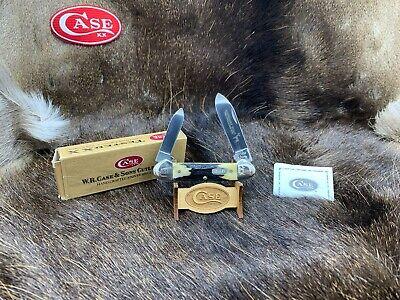 1997 Case M52131 1st Production Run Canoe Knife Midnight Stag - SN#: 001 - 10C
