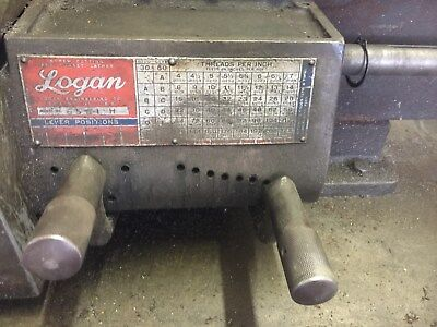 14 Logan Lathe Model 6561 H Parts Quick Change Gear Box Lead Screw Rack