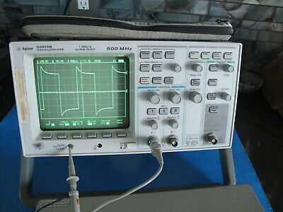 Agilent Hp 54615b - 500mhz Oscilloscope With 54650a Hp-ib Module