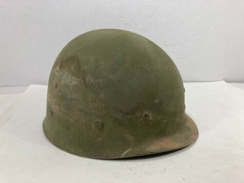 WW2 Helmet Liner, Westinghouse Electric Company Dirty, Rotted original complete
