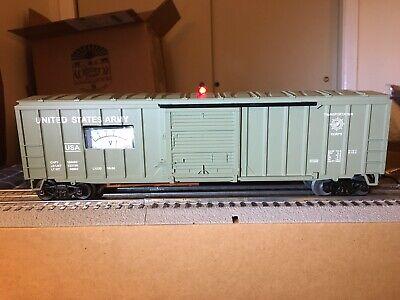 """Lionel 6-17265/ MTW Modern 50' U.S. ARMY Voltmeter Box Car """"O"""" Gauge, Rev 3.0"""