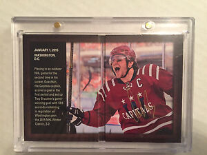 Alex Ovechkin Authentic Moments Signatures Booklet Hockey Card  Edmonton Edmonton Area image 1