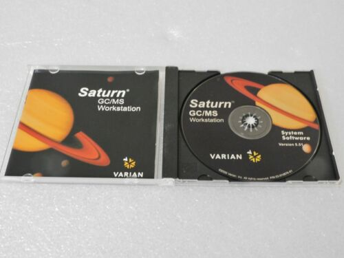 VARIAN SATURN GC/MS WORKSTATION 5.51 SOFTWARE WITH S/N CODE