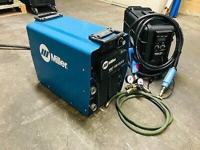 Miller Xmt 350 Cccv Suitcase 12rc Wire Feeder