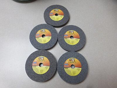 Norton Grinding Wheel..size 4 X 12 X12..66243529845..box Of 5 32a46-kvb