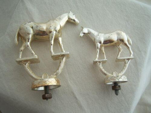 HORSE TROPHY TOPS WESTERN Toppers Model Show Equestrian Owens Draft Handle Metal