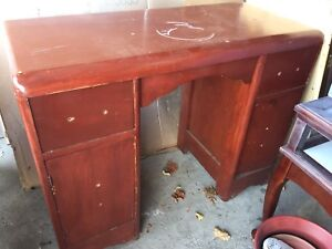 Pick up TODAY solid wood project vanity / desk