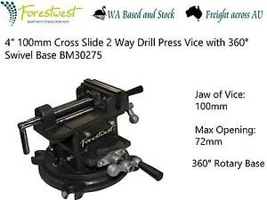 "360°Rotary 4"" Cross Slide Vice BM30275 [Forestwest] Canning Vale Canning Area Preview"