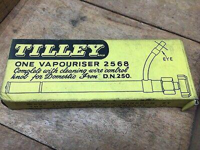 Vintage NOS TILLEY Lámpara 2568 Vaporizador Para DN250 Doméstica Hierro Parafina