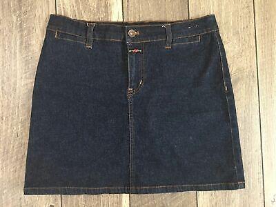 DKNY JEANS Womens Juniors Denim A-Line Above the Knee Skirt Size 7 Dkny Jeans Womens Skirt