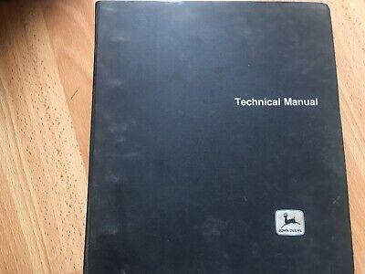 John Deere 2240 Tractor Factory Technical Service Manual In Binder Tm4301