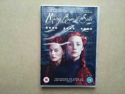 Mary Queen of Scots - 2018 Historical Costume Drama - Saoirse Ronan (DVD)