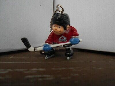 NHL LICENSED PRODUCT - COLORADO AVALANCHE HOCKEY  KEY CHAIN.