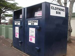 Wanted: Used Clothing Bin for Church Loganholme Logan Area Preview