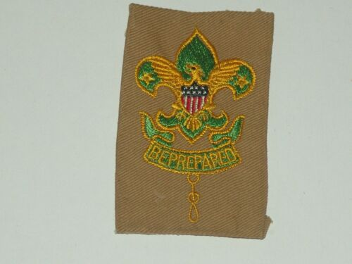 assistant scoutmaster patch on full square - glue on back - used
