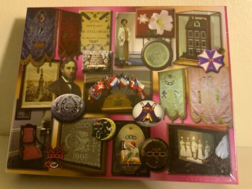 IOOF FLT Odd Fellows Valediction Puzzle | New | Sealed | 2007