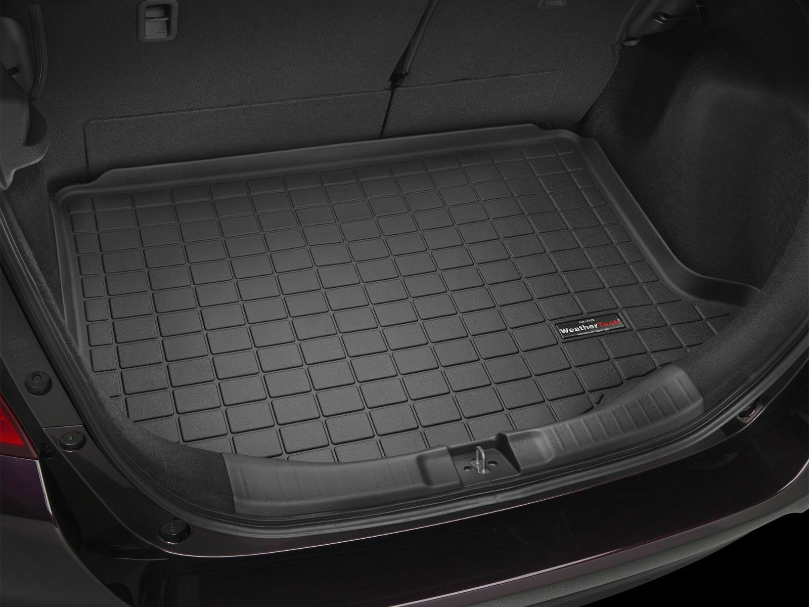 Weathertech Cargo Liner With Bumper Protector For Honda Fit 2015 2019 Black Ebay