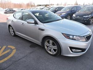2011 Kia Optima Turbo SX, CUIR, TOIT PANO, NAVIGATION