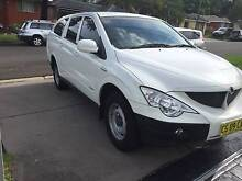 2010 Ssangyong Actyon Sports Ute 4X4 T/Diesel Auto excellent Mount Pritchard Fairfield Area Preview