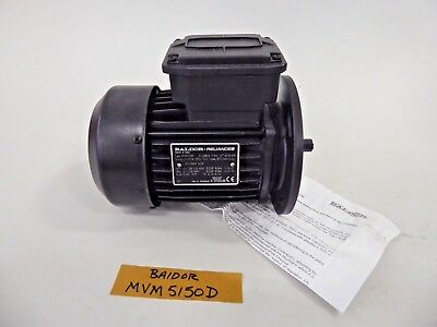 Baldor Mvm5150d Electric Motor .25 Hp Iec60034 16301340 Rpm Tefc 230460v 60hz