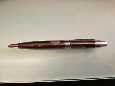 """Harley Davidson Ballpoint Pen, STYLO BILLE, """"RARE"""",  NEW, Grey / Chrome (2)"""