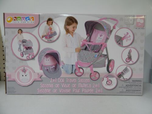 Hauck 2-in-1 Doll Stroller Travel System-5712011-NEW