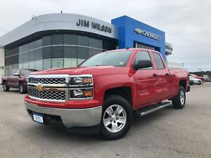 2014 Chevrolet Silverado 1500 LT 4X4 5.3L V8 BLUETOOTH ALLOYS KE