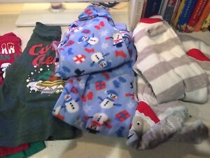 Size 4 Christmas clothes and pjs