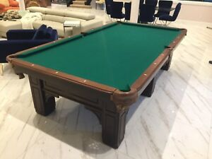Paragon Billiard slate Table $1900 Or Best Offer