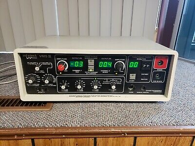Vintage Chattanooga Intelect Vms Ll 2-channel Ultrasound Machine