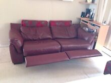 Electric Leather Couch Dee Why Manly Area Preview