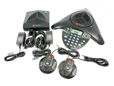 Polycom Soundstation 2w Ex Wireless Conference Phone Base Mics 2201-67800-022