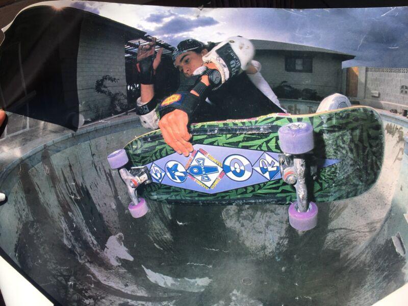 Vintage Skateboard Posters