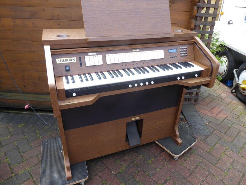 Church Organ Single Manual H5by Ahlborn