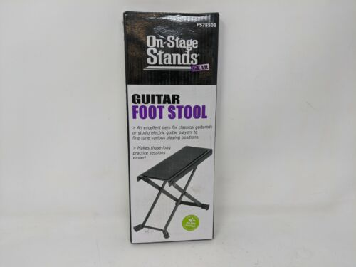 On Stage Stands Gear Guitar Foot Stool FS7850B