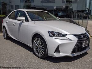 2017 Lexus IS 300 Luxury PKG No Accidents Navi Backup CAM Moo...