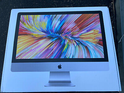 """CLEAN EMPTY BOX for 27"""" APPLE iMac SOME INSERTS BOX ONLY EMPTY BOX Model A1419"""