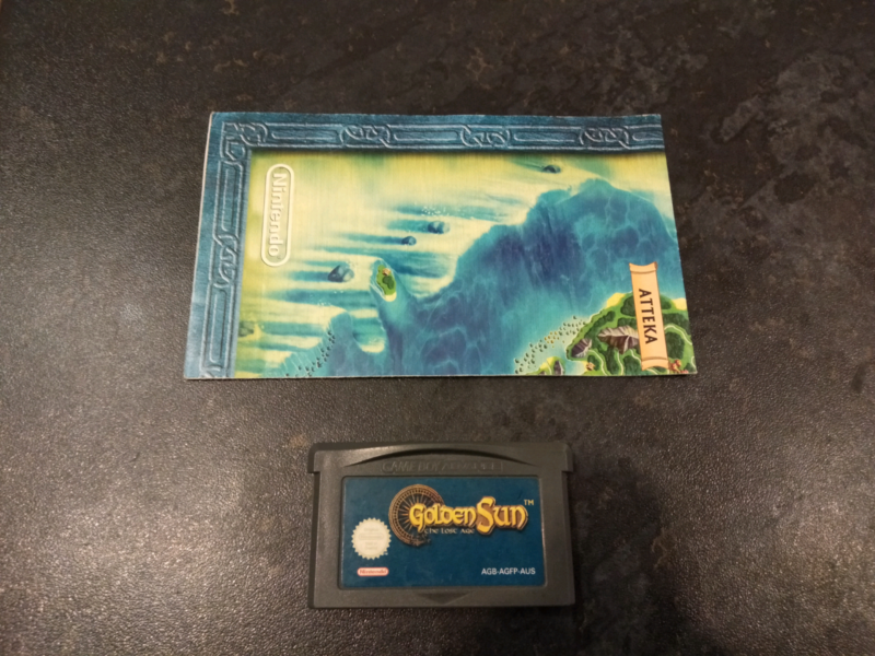 Golden sun the lost age with map (gba) | Video Games | Gumtree ...