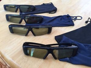 $20 each  OBO 4 pairs Samsung 3D glasses