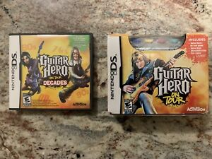Guitar Hero for Nintendo DS and DS lite